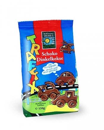 Био детски бисквити с какао Трафикс