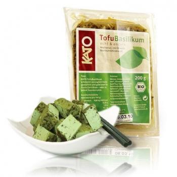Био тофу с босилек и зехтин Kato