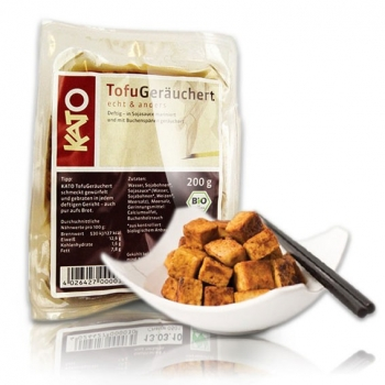 Био пушено и мариновано в соев сос Тофу Kato