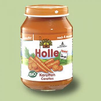"""Био пюре моркови """"Holle"""""""