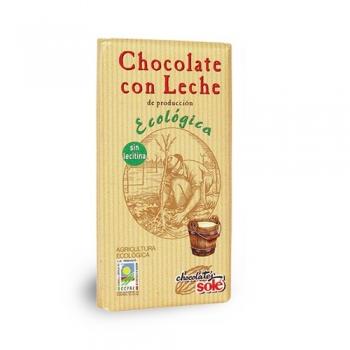 Био млечен шоколад 100 гр.
