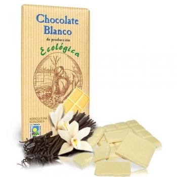 Био бял шоколад