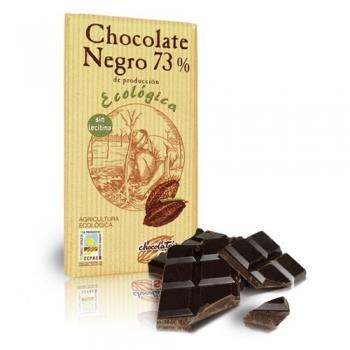 Био черен шоколад - 73 % какао