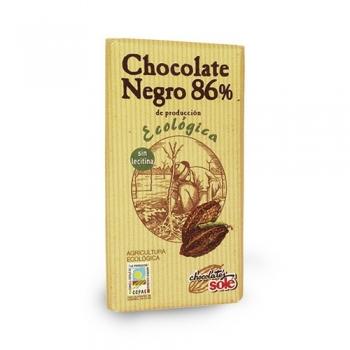 Био черен шоколад - 86 % какао