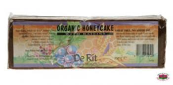 Биологичен ръжен кекс с мед и стафиди 350гр.