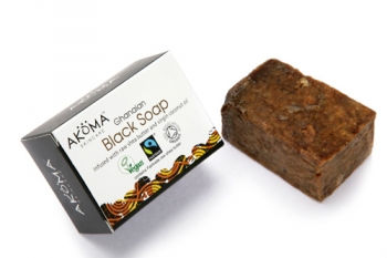 Африкански био черен сапун