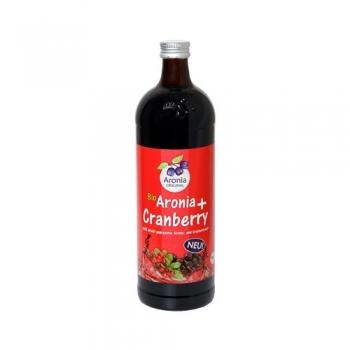 Био сок от арония и червена боровинка 700 мл