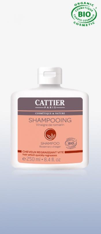 Cattier - Шампоан SHAMPOOING AU VINAIGRE DE ROMARIN