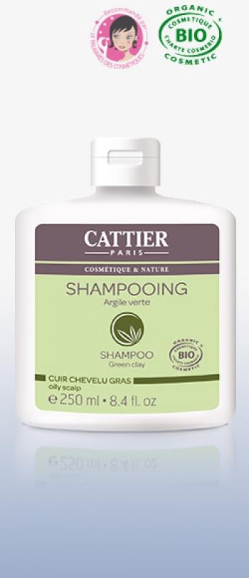 Cattier - Шампоан SHAMPOOING A L'ARGILE VERTE