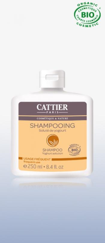 Cattier - Шампоан  SHAMPOOING AU SOLUTE DE YOGOURT