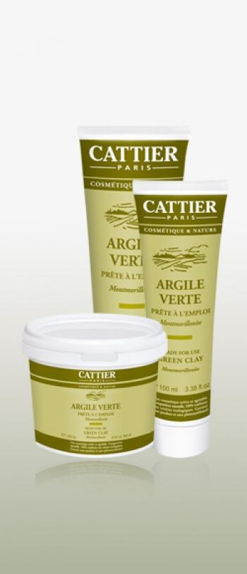 Cattier - Зелена глина готова за употреба 400g.