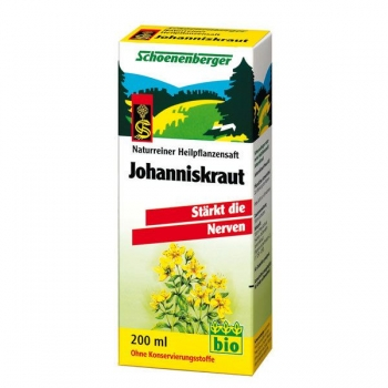 Сок от жълт кантарион