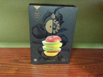 Студено пресован сок ябълка