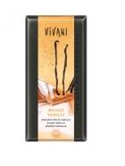 Био шоколад бял с ванилия Vivani