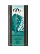 Био натурален шоколад с ментов пълнеж Vivani