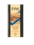 Био млечен шоколад с карамелов крем Vivani