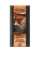 Био шоколад тъмен крем нуга Vivani