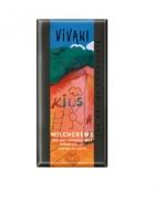 Био шоколад за деца с млечен крем Vivani