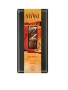 Био млечен шоколад с цели бадеми Vivani