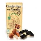 Био черен шоколад с бадеми и какао 73 %