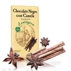 Био черен шоколад с канела и какао 56 %