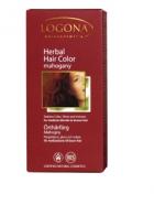 Био прахообразна боя за коса Махагон Logona