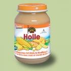 """Био пюре с говеждо, картофи и царевица """"Holle"""""""
