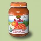 """Био пюре моркови с ябълки """"Holle"""""""