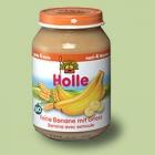 """Био пюре от банани с грис, """"Holle"""""""