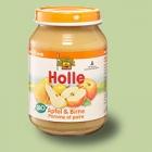 """Био пюре от ябълки и круши, """"Holle"""""""