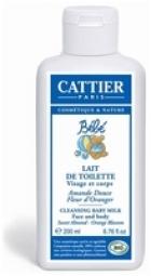 CATTIER Бебешко тоалетно мляко