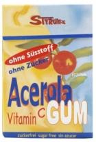 Дъвки с ацерола, без захар и подсладител