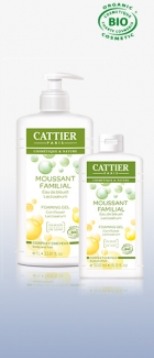Cattier - Душ гел -  MOUSSANT FAMILIAL - 500 ml.