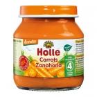 "Деметер зелечуково пюре от моркови 125g.""Holle""4м."